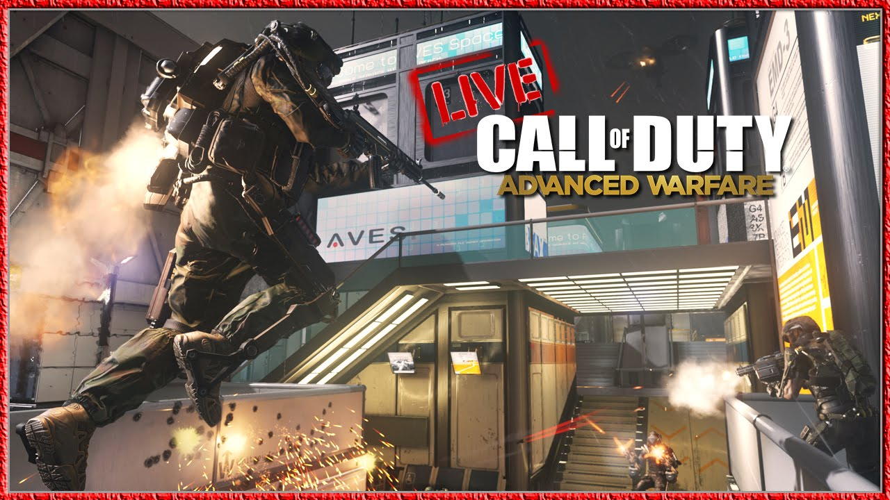 Call of Duty Advanced Warfare Multiplayer Gameplay Xbox One