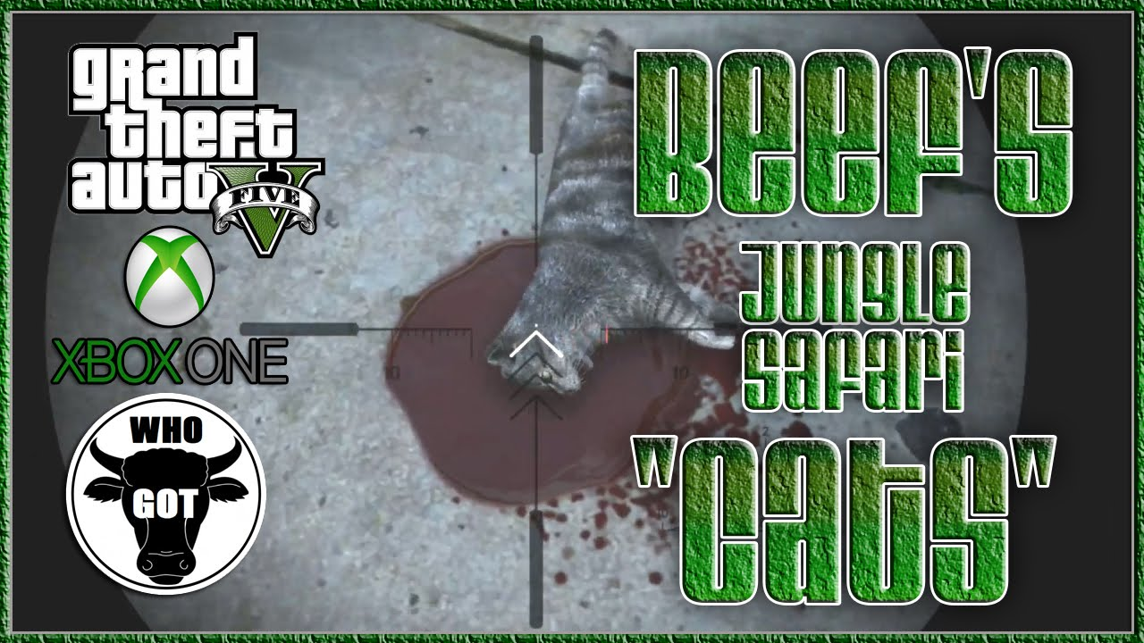 GTA 5 Beef's Jungle Safari Cats