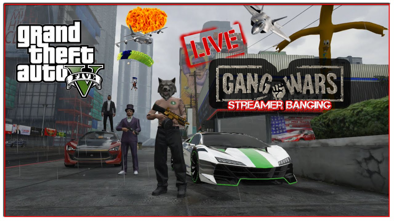 "GTA 5 Online ""GTA V Gang Wars Streamer Banging"""
