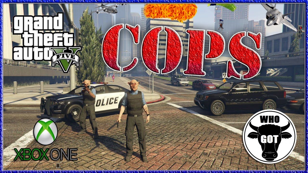 GTA V Next Gen Cops