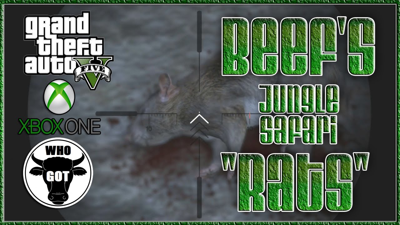 GTA V Xbox One Beef's Jungle Safari Rats""