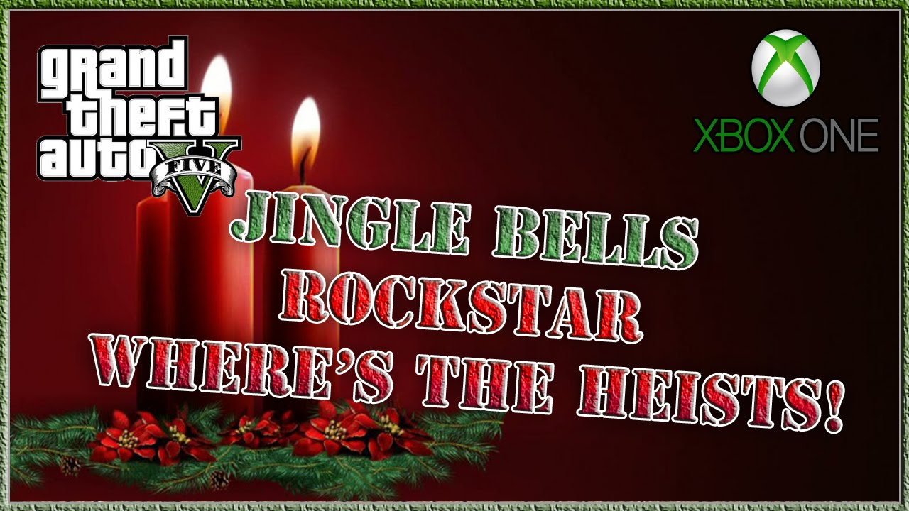 GTA 5 Jingle Bells Parody Where's The Heists