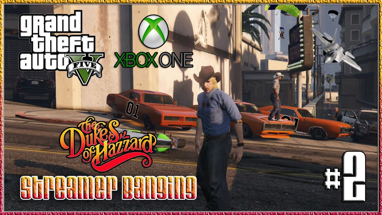"""GTA V The Dukes Of Hazzard SB #2″ Xbox One Live"