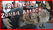 Real Life Zombie Attack - When Zombies Attack - The Walking Dead In this Real Life Zombie Attack - When Zombies Attack - The Walking Dead Beef