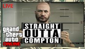 "GTA 5 Online ""Straight Outta Compton"" GTA 5 Online ""Straight Outta Compton"" GTAV Online Gameplay Bank Heists Races and More Live HD"