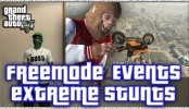 GTA 5 Online Freemode Events Extreme Stunts GTA 5 Online Freemode Events and GTA 5 Extreme Stunts GTA Online Gameplay Update 1.29