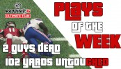 "Madden 16 Ultimate Team ""2 Guys Dead"" Top 5 Plays of the Week Madden 16 Ultimate Team ""2 Guys Dead"" Top 5 Plays of the Week Madden 16 Gameplay"