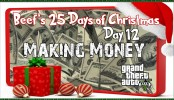 GTA 5 Online Making Money Beef's 25 Days of Christmas GTA 5 Online Making Money Beef's 25 Days of Christmas Day #12 GTA V Online Xbox One Gameplay