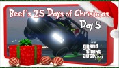 GTA 5 Driving on 2 Wheels Beef's 25 Days of Christmas Day #5 GTA 5 Online Christmas Special GTA 5 Driving on 2 Wheels Beef's 25 Days of Christmas Day #5