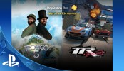 PlayStation Plus Free Games May 2016 PlayStation®Plus membership includes free games and online multiplayer on PS4™ systems.* In May, PS Plus membership includes Tropico 5 and Table Top Racing World Tour. Visit https://store.sonyentertainmentnetwor... to learn more!