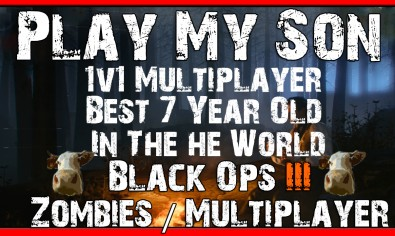 BLACK OPS 3 1V1 My Son Best 7 Year Old In The World BLACK OPS 3 1V1 My Son Best 7 Year Old In The World | BO3 Multiplayer / Zombies Gameplay