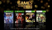 Xbox Games with Gold - August Play together with Xbox Live Gold. August's Games with Gold lineup for Xbox One includes: Warriors Orochi 3 Ultimate and WWE 2