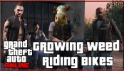 GTA 5 Online Biker DLC Growing Weed and Riding Bikes GTA 5 Online Biker DLC Growing Weed and Riding Bikes | GTA V Online Biker DLC Xbox One (GTA 5 DLC)