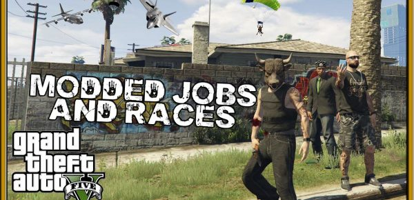GTA 5 Online Modded Races Jobs with the crew GTA V Online Xbox One Gameplay Funny Moments Beef is back to check out some modded jobs from the rockstar