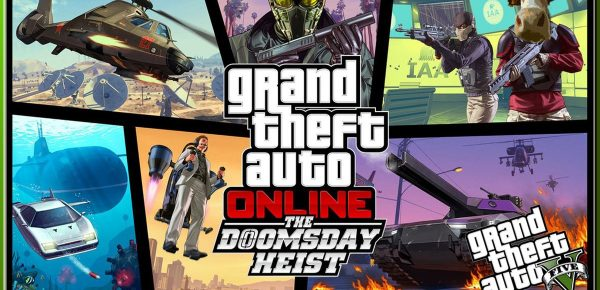 GTA 5 Online The Doomsday Heist Gameplay GTA V Online Xbox One Funny Moments Beef is back to check out some new heists well new for him lol