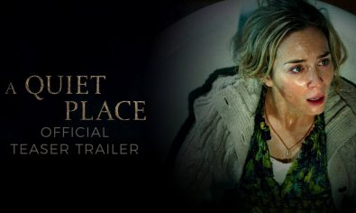 A Quiet Place Check out the official A Quiet Place trailer starring Emily Blunt and John Krasinski. Don't make a sound in theatres April 6 2018.