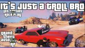 GTA 5 Roleplay It's Just A Troll Bro Official Five Life Funny Moments GTAVRP Gameplay Trolling Beef is back he has been live every night on twitch